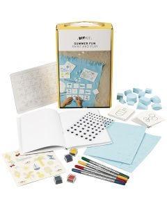 Kreativ med papir og karton, 1 sæt