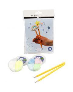 Mini kreative sæt, blyanter, 1 sæt