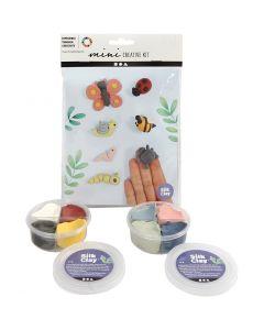 Kreativt Minikit, insekter, 1 sæt