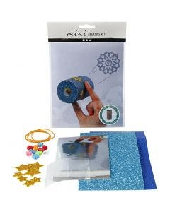 Kreativt Minikit, Toiletrulle kalejdoskop, 1 sæt