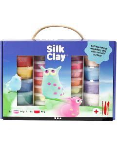 Silk Clay® gaveæske, ass. farver, 1 sæt