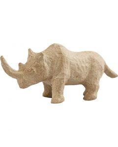 Næsehorn, H: 7,5 cm, L: 18 cm, 1 stk.