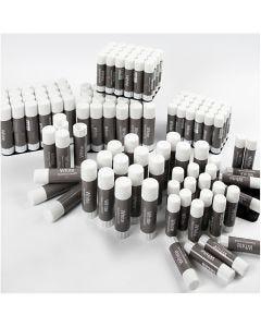 White Limstift , 144 stk./ 1 pk.