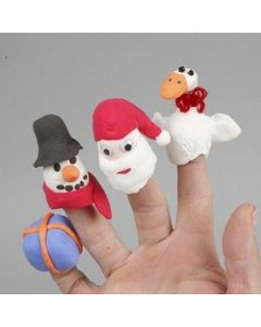 Silk clay fingerdukker