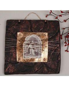 Art metal maling, blad metal, slagmetal og sølv/guld spray