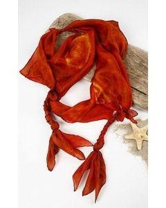 Silkesmykketørklæde