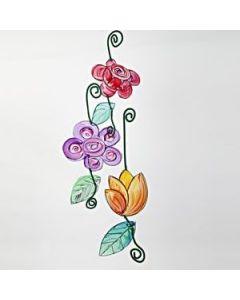 Transparente blomster