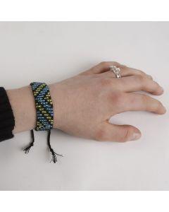 Perlevævet armbånd
