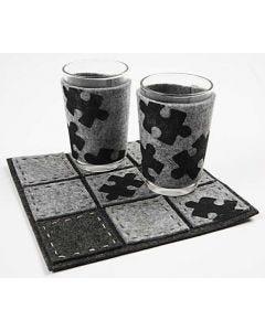 Filtholder til glas og bordskåner