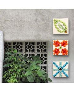 Kakler med mosaiksten