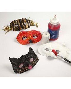 Plastmasker med gipsgaze