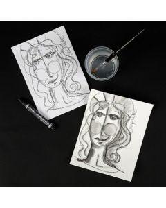 Lyra Grafit akvarelstift