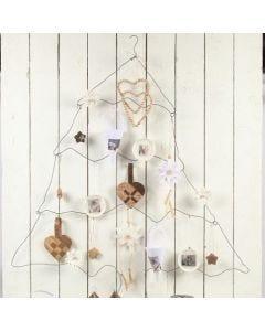 Juletræ i tråd