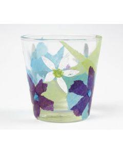 Silkepapir på glas