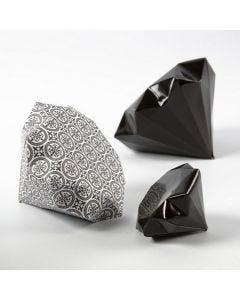 Foldet diamant af Paris designpapir fra Vivi Gade
