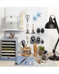 Praktisk indretning på din hjemmearbejdsplads
