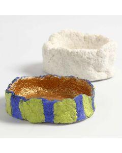 Lille skål formet af pulp