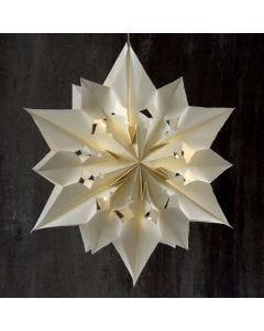 Stor og lysende stjerne af papirsposer