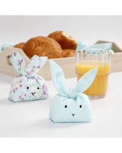 Syet kanin med fyld af plasthagl