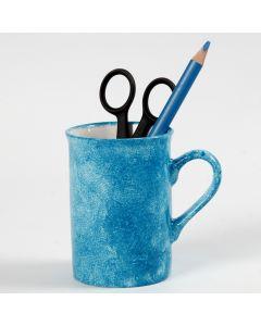 Sådan dupper du maling på porcelæn