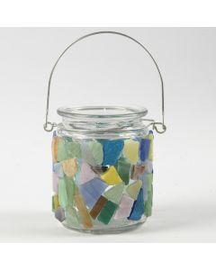 Sådan dekorer du med mosaik på glas