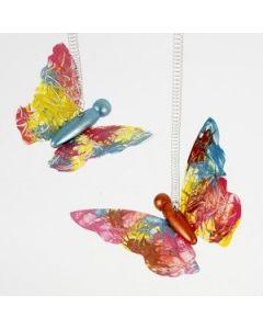 Dekoration af sommerfugle