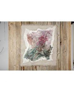 Kunstværker med håndlavet silke