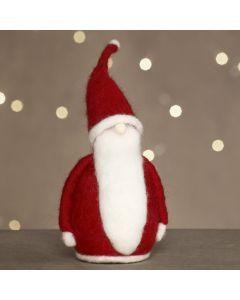 Julemand af nålefilt på styropor