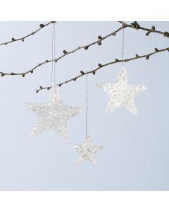 Glitrende stjerne ophæng af Sticky Base og drys