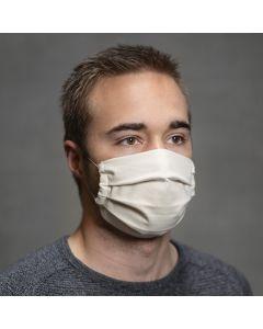 Syet mundbind med plissé