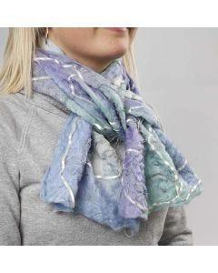 Uldtørklæde lavet med forsvindingsstof