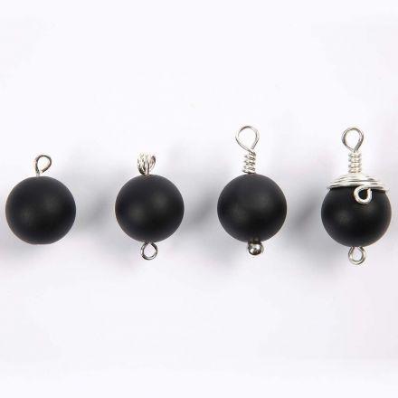 Sådan laver du perle vedhæng på øje-, kugle- og perlestilke