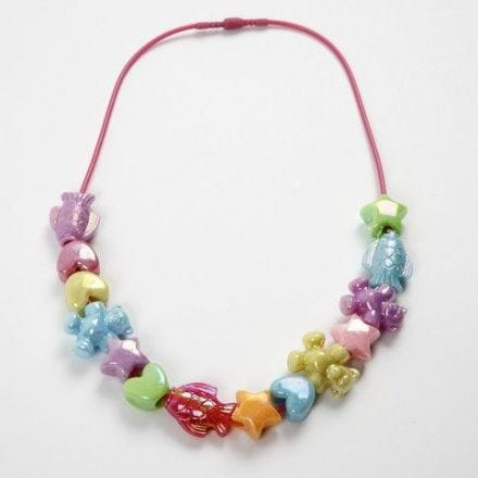 Halskæde med snaplukning til børn