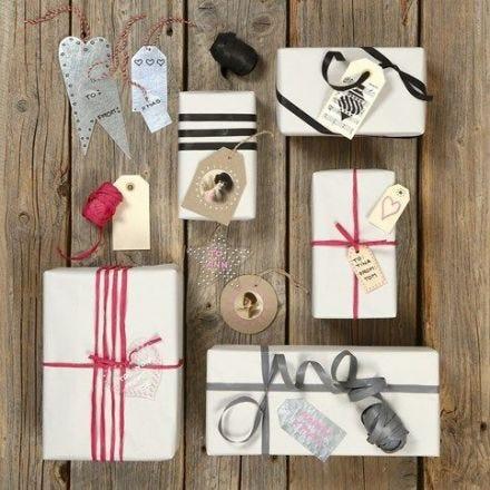 Forskellige tags på gaver