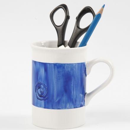 Sådan maler du relief på porcelæn