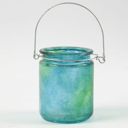 Sådan dupper du maling på glas