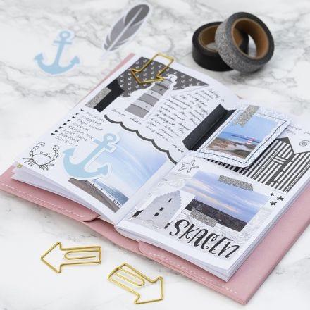 Rejseminder i Bullet journal og planner