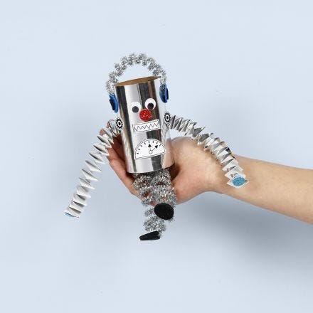 Robot af paprør