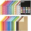Color Bar rivekarton, A4, 210x297 mm, 250 g, ass. farver, 32x10 ark/ 1 pk.