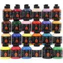 Pigment Art School, ass. farver, 24x500 ml/ 1 pk.