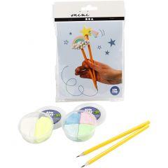 Kreativt Minikit, blyanter, 1 sæt