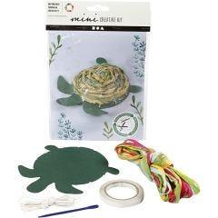 Kreativt Minikit, Skildpadde, 1 sæt