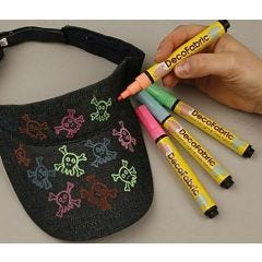 Tekstil marker og tekstil tusch