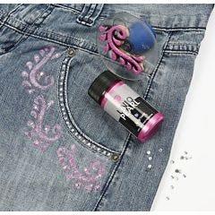 Perlemor- og glittermaling til tekstil
