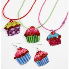 Smykker med cupcakes