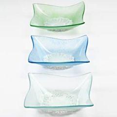 Glasskåle med frost