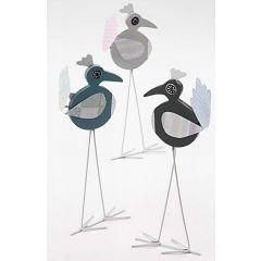 Langbenede fugle