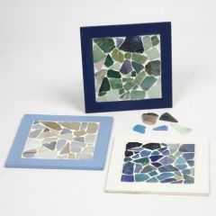 Collageramme med mosaik