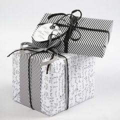 "Gaveindpakning i ""Paris"" fra Vivi Gade Design"