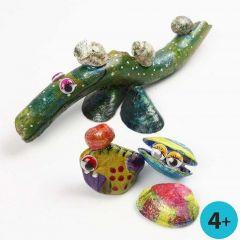 A-Color Glass på naturmaterialer